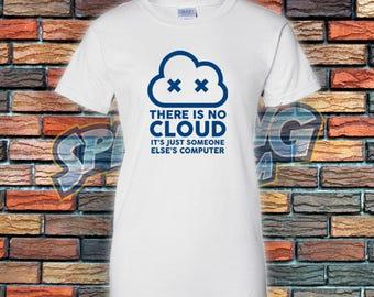 No Cloud Ladies Tee