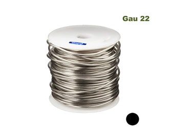 Silver Plated Copper Round Wire 22 Gau 500 Ft 1 Lb Spool Jewelry Making Findings WA 845-190