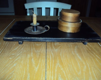 Primitive Table Riser, Table Riser, Handmade Table Riser, Vintage Table Riser, Distressed Riser, Distressed Table, Country Table, Old Riser