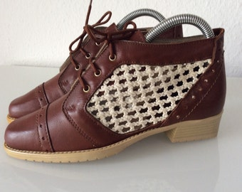 DEADSTOCK OXFORDS HANDMADE Made in Italy Vintage Shoes