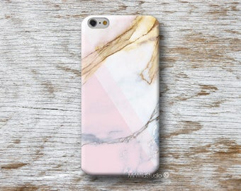 Pink White Marble Phone Case for iPhone 4 4s 5 5s SE 5C 6 6S 7 8 PLUS X iPod Touch 5 6 Oneplus 2 3 5 1+2 1+3 1+5