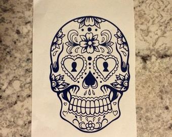 Sugar Skull   Calavera   Day of the Dead Skull   skull  Dia de los Muertos
