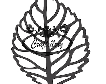 SVG/PNG Paper Flower Leaf Digital Version