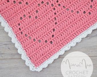 I Heart You Blanket | Crochet Pattern