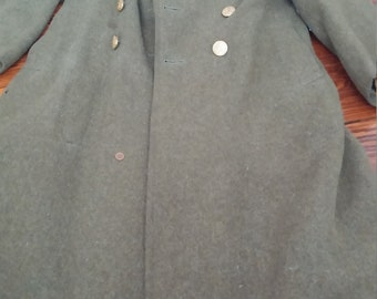 World War II Wool Overcoat