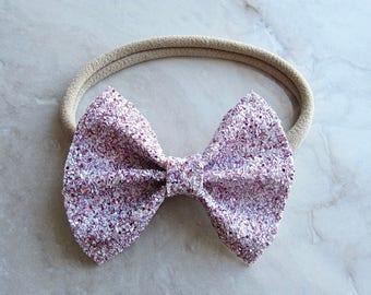 RESTOCK Sweet heart sparkle bow