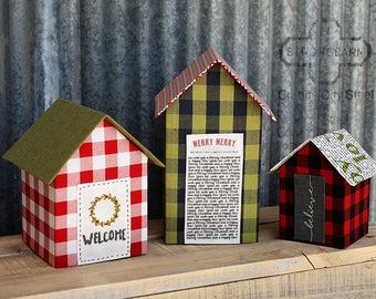 Welcome Home Little House Kit- Christmas Edition