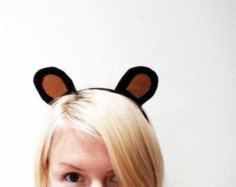 Honey Bear Headband