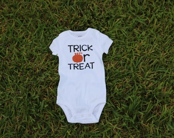 Trick or Treat Halloween Onesie