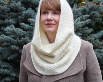 Knitting Pattern: The Blizzard Cowl