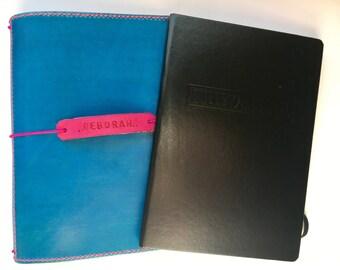 Bullet Journal Handmade Leather Cover, Fits Leuchtturm1917 plus additional Traveler's Notebook Inserts!