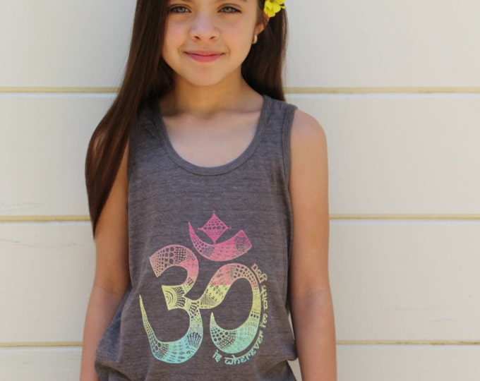 OM Is Wherever I'm With You Kids Tee or Tank