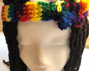 Rainbow Starred Headband