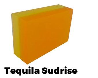 Tequila Sudrise - Handmade Soap Bar (citrus scent) //vegan, made in Canada//