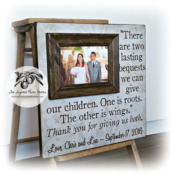 Wedding Gifts Parents: Gifts For Parents On Wedding Day Parents Of The Bride Gift
