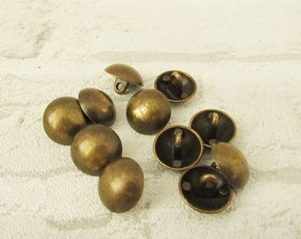 Vintage Military Button Shank Button brass Buttons metal Buttons Antique Button army Button Coat Button Count Buttons Retro Button bronze
