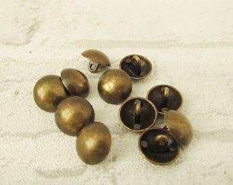 Vintage Military Button Shank Button brass Buttons metal Buttons Antique Button army Button Coat Button Count Buttons Retro Button bronze