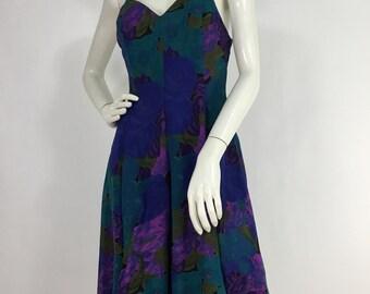 Vintage Cami Sport for leboff skater dress/sheer skater dress