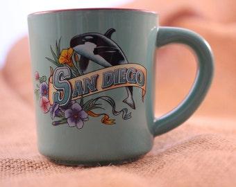 Vintage San Diego Mug