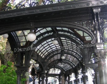 Pioneer Pergola Fine Art Photograph . Photo taken in Seattle, Washington  FREE SHIPPING  8 x 12 inches (20.5 cm X 30.5 cm)