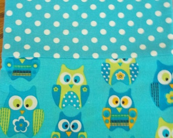 Pillowcase with Owls