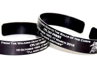 Cpl Ian Forry Memorial Bracelet