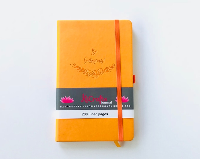 Be Courageous Journal - Yellow