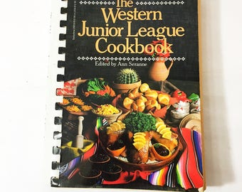 Junior cookbook etsy the western junior league cookbook first edition vintage cookbook circa 1981 the best recipes forumfinder Images