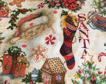 Christmas Dreams (4) Cloth Dinner Napkins