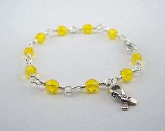 Ewing Sarcoma Awareness Bracelet
