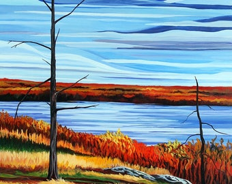"""Old Tree, 16"""" x 20"""" giclee print - Limited Edition of 50 - Canadian Art"""