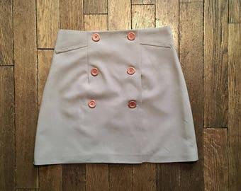 Skirt worn leaf vintage