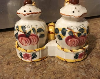 SALE!! Japan Salt and pepper shakers/ Caddy