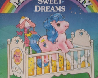 My Little Pony Sweet Dreams Toddler Board Book RARE hard to find