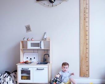 Personalised Giant Ruler Height Chart | Handmade in the UK