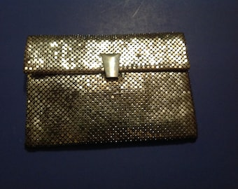 Vintage 1950's Era Mesh Sequined Clutch/Purse/Handbag