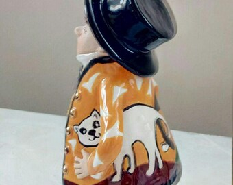 ceramic bells cat lover