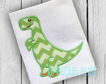 T-Rex Applique Design - Animals - Dinosaur - Tyrannosaurus Rex - Boy - Monogram - Machine Embroidery