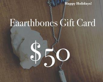 Gift Card 50 Dollars