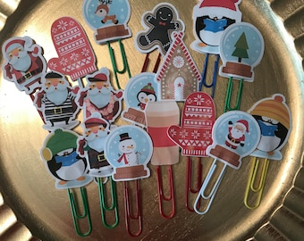 Holiday Paperclips