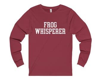 Frog Whisperer T-Shirt Long Sleeve Shirt Womens Mens