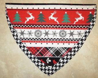 Christmas Sweater OVER THE COLLAR Dog Bandana