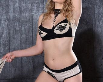 Cotton Bra -  Sports Bra Top Plus Size Bra available Bra with Choker
