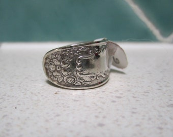 SALE Vintage Spoon Ring - Size 6 - Size M