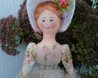 Poupée de l'art. Textile de l'auteur Doll «Jeune barynka»