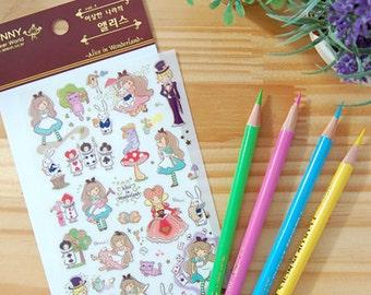 Cute Alice In Wonderland Stickers-Fairy Tale stickers