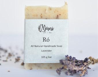 All Natural Handmade Lavender Soap