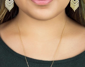 Graph Semicircle Necklace | ATL-N-114