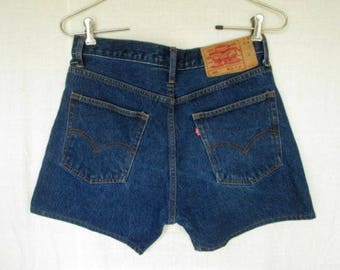 Vintage ? Levis Levi Strauss 501 Big E Mens Jean Shorts Size 35 Made in USA Worldwide Shipping