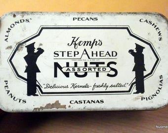 Kemp's Step Ahead Assorted Nuts Tin 1931